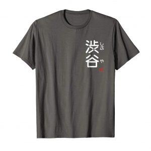 Shibuya Furigana Japanese T-Shirt - Asphalt Mens
