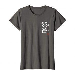 Shibuya Furigana Japanese T-Shirt – Asphalt Womens
