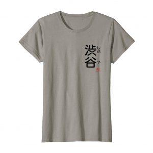 Shibuya Furigana Japanese T-Shirt – Slate Womens