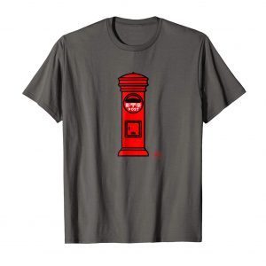 Japanese Post Box T-Shirt - Asphalt Mens