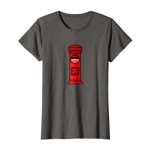 Japanese Post Box T-Shirt – Asphalt Womens