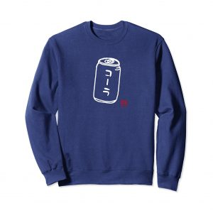 Cola Japanese Sweatshirt - Navy